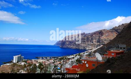 Tenerife, Spain: Panorama on Los Gigantes