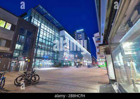 Valkea Shopping Center in Oulu, Finland - Stock Photo