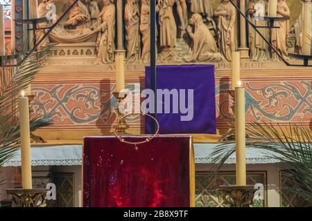Notre Dame de Paris Cathedral, Paris, France. - Stock Photo
