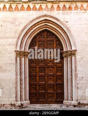 Auditorium di Santa Catarina, Foligno, Umbria, Italy - Stock Photo