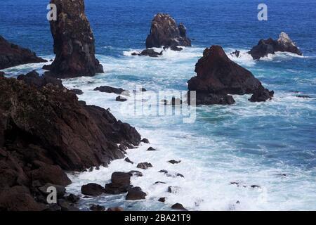 Seopjikoji Cape, Jeju Island, South Korea, Asia - Stock Photo