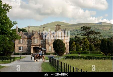 Muckross House in Killarney National Park County Kerry Ireland - Stock Photo