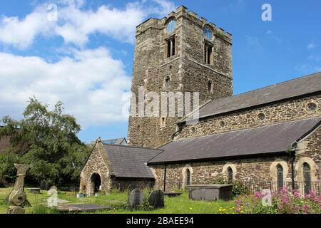 Church of St Mary's & All Saints, Conwy, Wales