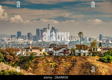 Downtown skyline, Los Angeles, California, USA