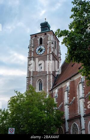 The Liebfrauen Cathedral in Ingolstadt, Bavaria/Germany - Stock Photo