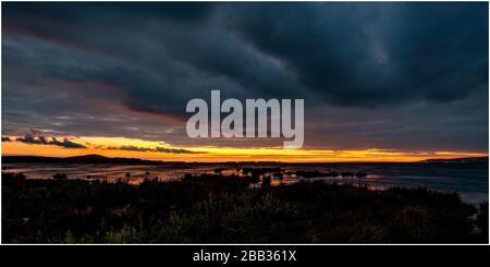 Loughor Estuary - Stock Photo