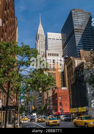 The Chrysler Building in New York City, NY USA - Stock Photo
