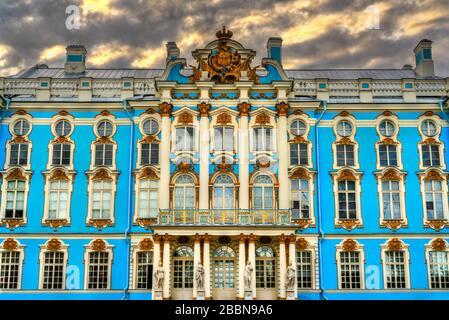 The Catherine Palace in Tsarskoye Selo - St. Petersburg, Russia