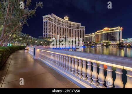 Bellagio hotel and casino in Las Vegas, Nevada