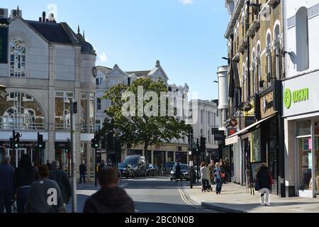 The Quadrant, Richmond, London, UK - Stock Photo