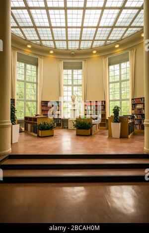 Sweden, Central Sweden, Uppsala, Carolina Rediviva Library, interior,