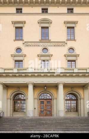 Sweden, Central Sweden, Uppsala, Carolina Rediviva Library, exterior