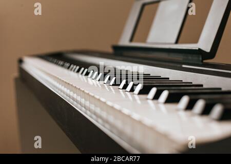 Piano keyboard musical ins.Piano keyboard