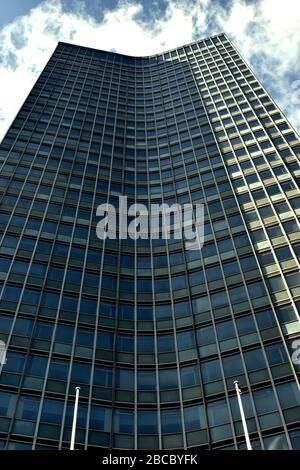 London, UK: 01 March 2020. Millbank tower - Stock Photo