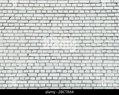 old white brick vintage wall structure stone background texture Stock Photo