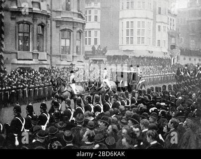 Queen Victorias Funeral Procession at Windsor, 1901