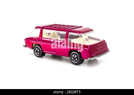 Lesney Products Matchbox model toy car 1-75 series no. - Stock Photo