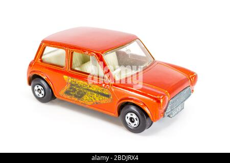 Lesney Products Matchbox model toy car 1-75 series no.29 Racing Mini - Stock Photo