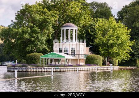 Temple Island, Henley-on-Thames, Oxfordshire, England, GB, UK - Stock Photo