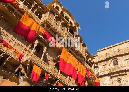 Raja Ka Mahal Palace Jaisalmer Fort Rajasthan India