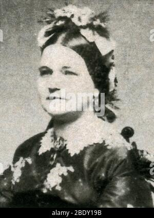 Mary Todd Lincoln, First Lady - Stock Photo