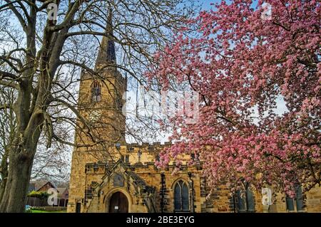 UK,South Yorkshire,Rotherham,Wath Upon Dearne,All Saints Church