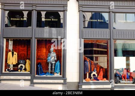 Stefano Ricci store, Rodeo Drive, Beverly Hills, Los Angeles, California. - Stock Photo