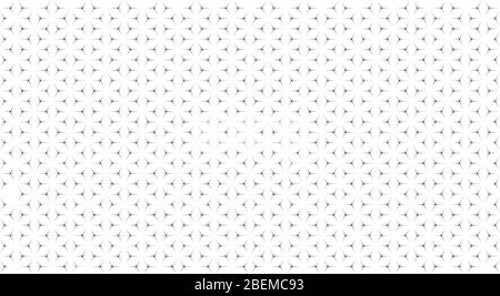 Abstract geometric pattern with the intersection of thin lines. Vector illustration