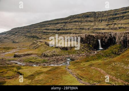 Breathtaking nature of Iceland - Stock Photo
