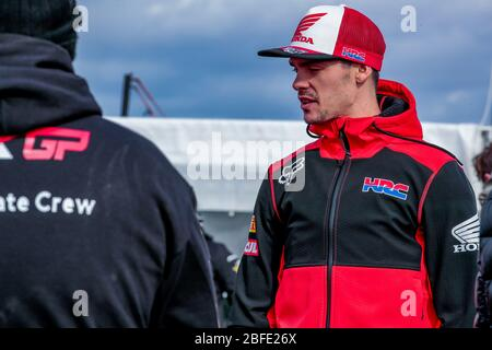 Winchester, Italy. 01st Mar, 2020. tim gajser (slo) team hrc classe mxgp during MXGP of Great Britain, Motocross in winchester, Italy, March 01 2020 Credit: Independent Photo Agency/Alamy Live News