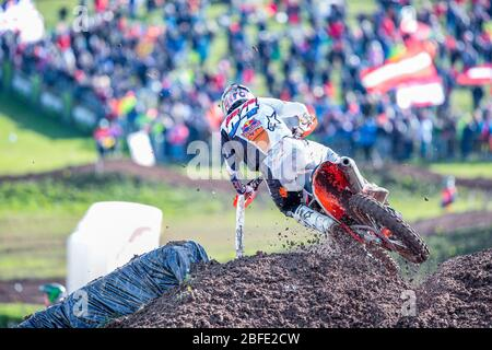 Winchester, Italy. 01st Mar, 2020. jeffrey herlings (hol) ktm factory racing classe mxgp during MXGP of Great Britain, Motocross in winchester, Italy, March 01 2020 Credit: Independent Photo Agency/Alamy Live News