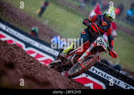 Winchester, Italy. 01st Mar, 2020. antonio cairoli (ita) ktm factory racing during MXGP of Great Britain, Motocross in winchester, Italy, March 01 2020 Credit: Independent Photo Agency/Alamy Live News