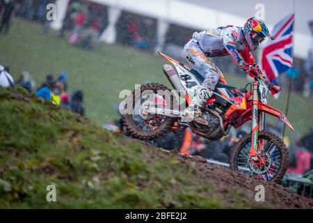 Winchester, Italy. 01st Mar, 2020. jaffrey herlings (hol) ktm factory racing during MXGP of Great Britain, Motocross in winchester, Italy, March 01 2020 Credit: Independent Photo Agency/Alamy Live News