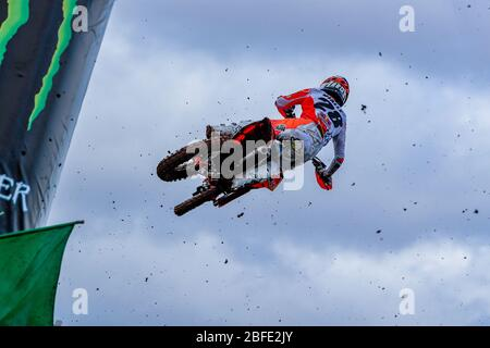 Winchester, Italy. 01st Mar, 2020. tom vialle (fra) team ktm factory racing during MXGP of Great Britain, Motocross in winchester, Italy, March 01 2020 Credit: Independent Photo Agency/Alamy Live News