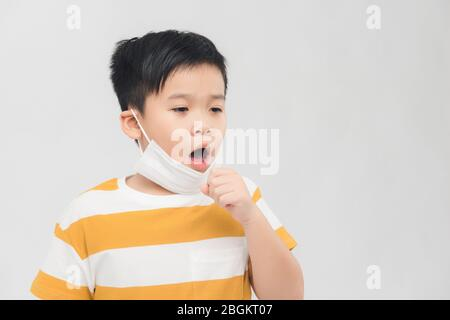 asian, vietnamese, chinese, korean, japanese, wearing, epidemic, virus, protection, covid-19, boy, care, protective, face, flu, mask, illness, human, - Stock Photo