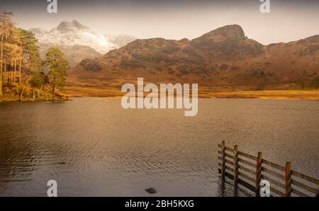 Blea Tarn with Langdale. and Side pikes in the background