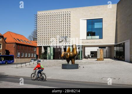 06.04.2020, Muenster, North Rhine-Westphalia, Germany - LWL Museum for Art and Culture. 00X200406D035CAROEX.JPG [MODEL RELEASE: NO, PROPERTY RELEASE: - Stock Photo