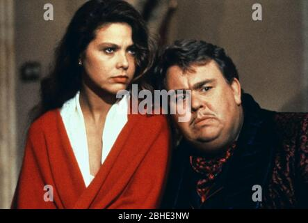 ORNELLA MUTI, JOHN CANDY, ONCE UPON A CRIME..., 1992 - Stock Photo