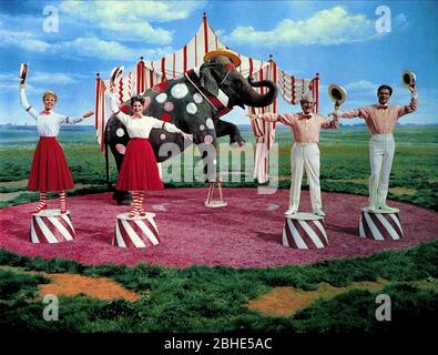 DAY,RAYE,DURANTE,BOYD, BILLY ROSE'S JUMBO, 1962