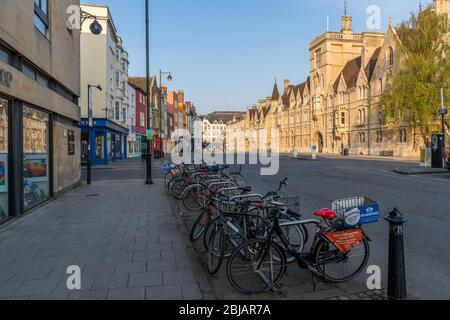 Balliol College, Broad Street, Oxford - Stock Photo