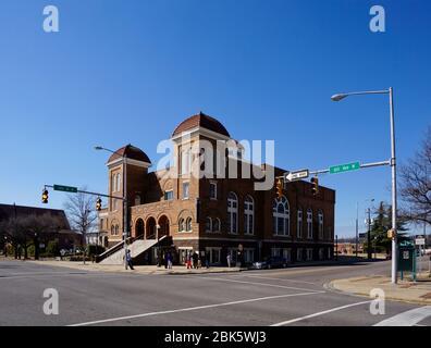Birmingham USA - 14 February 2015 - 16th Street Baptist Church in Birmingham Alabama USA - Stock Photo