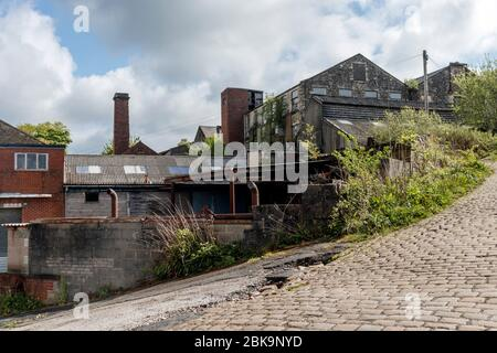 Withnell Fold paper mill - Stock Photo