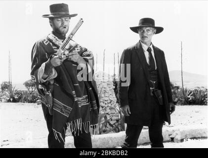 CLINT EASTWOOD, LEE VAN CLEEF, FOR A FEW DOLLARS MORE, 1965 - Stock Photo