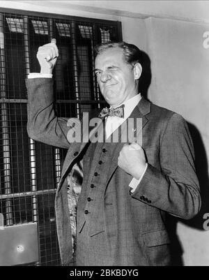 KARL MALDEN, THE BIRDMAN OF ALCATRAZ, 1962 - Stock Photo