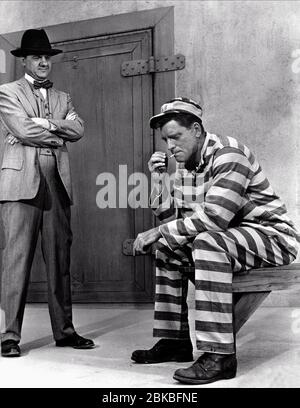 KARL MALDEN, BURT LANCASTER, THE BIRDMAN OF ALCATRAZ, 1962 - Stock Photo