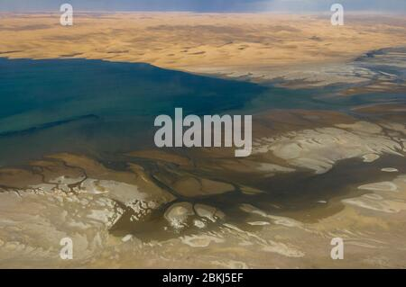 Namibia, Namib desert, Swakopmund, skeleton coast - Stock Photo