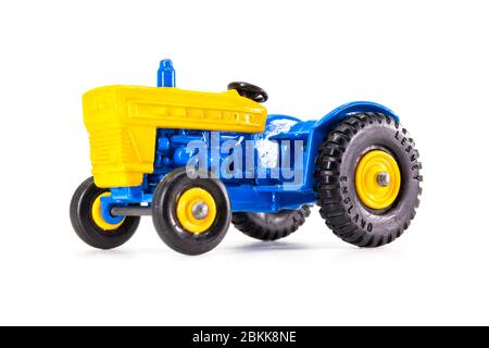Lesney Products Matchbox model toy car 1-75 series no.39 Ford Tractor - Stock Photo