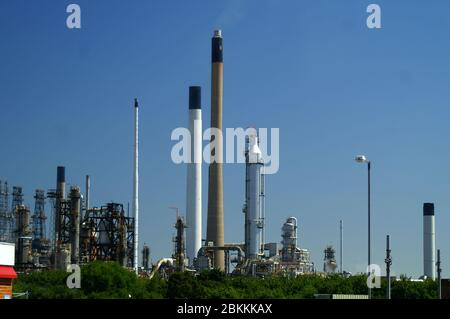industrial refinery, Australia - Stock Photo