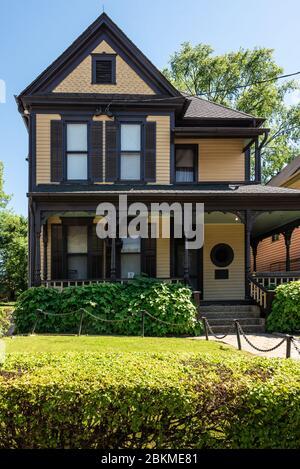 Martin Luther King, Jr. birthplace home in Atlanta, Georgia. (USA)