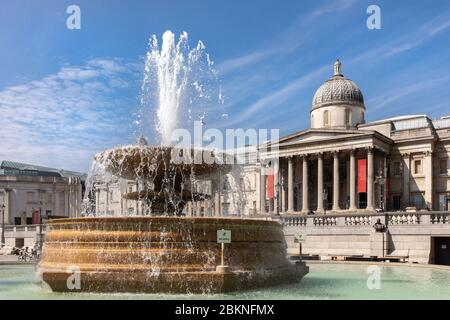 The National Gallery in London - Stock Photo